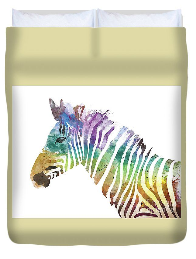 Zebra Duvet Cover for Sale by Monn Print | Arte