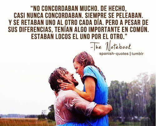 Imagen De Love The Notebook And Frases Love Quotes Movie Quotes Love Phrases