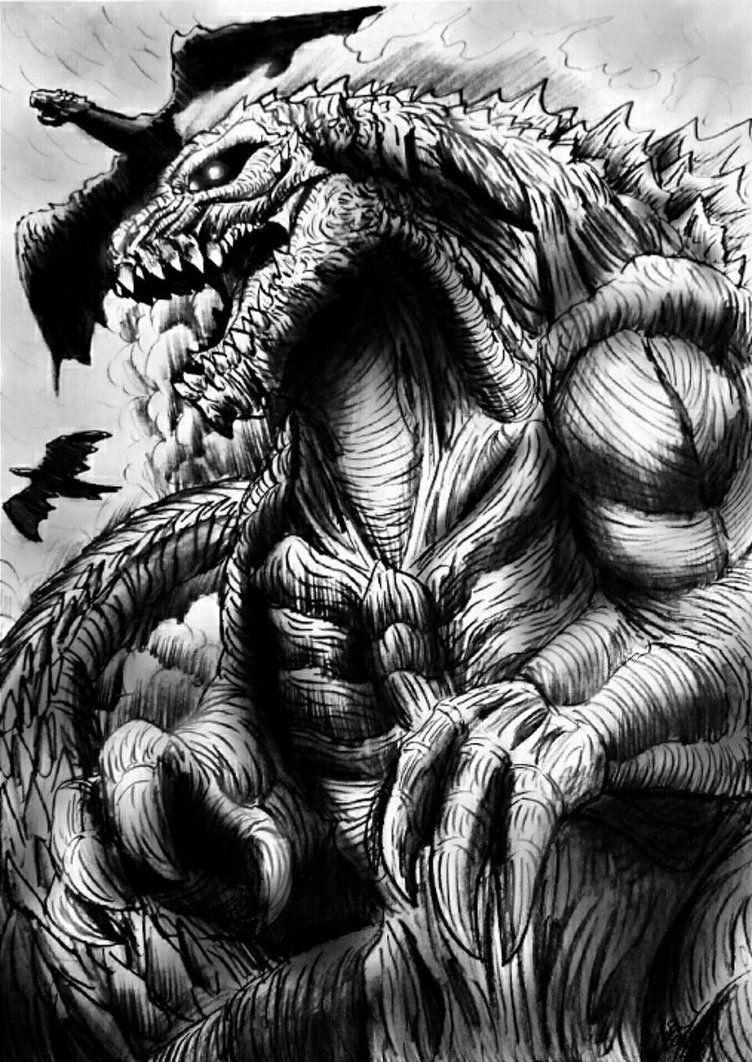 GODZILLA : Monster Planet (Godzilla 2017) by Erickzilla