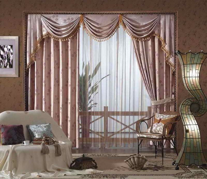 Charmant Swag Curtains For Living Room Valance Curtains For Living Room