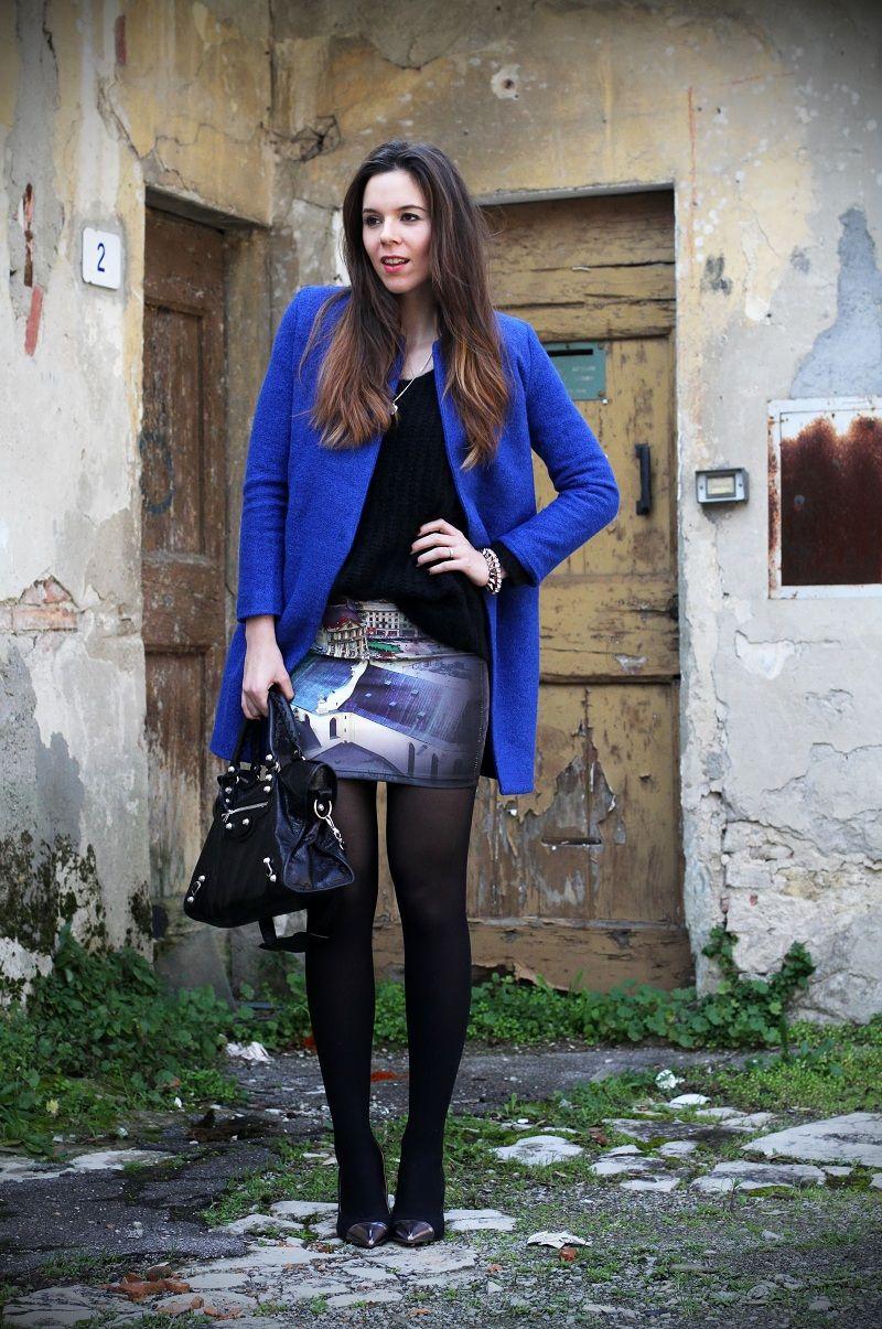 fashion #fashionista Irene cappotto blu elettrico | Moda