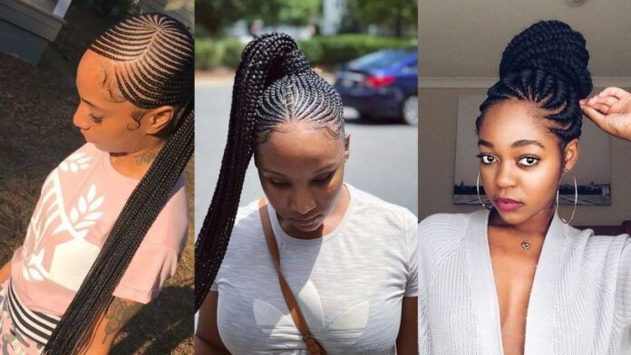 2021 Stylish Classy And Hot Ghana Weaving Shuku Styles In 2021 Ghana Weaving Ghana Weaving Styles African Braids Hairstyles Pictures
