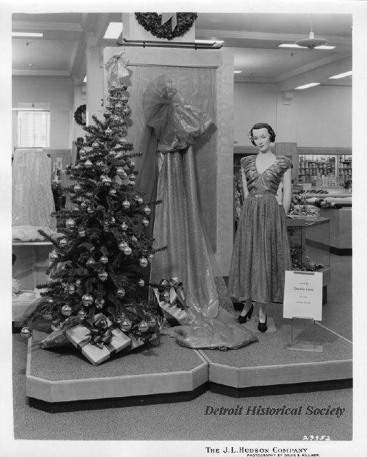 J L Hudson Company Department Store A Female Mannequin