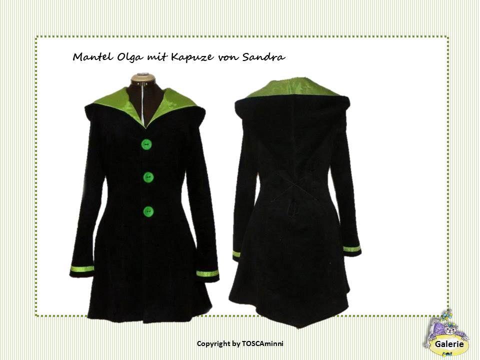 Boho Damen Mantel Fleecemantel Patchwork in ausgefallenem Design mit Kapuze