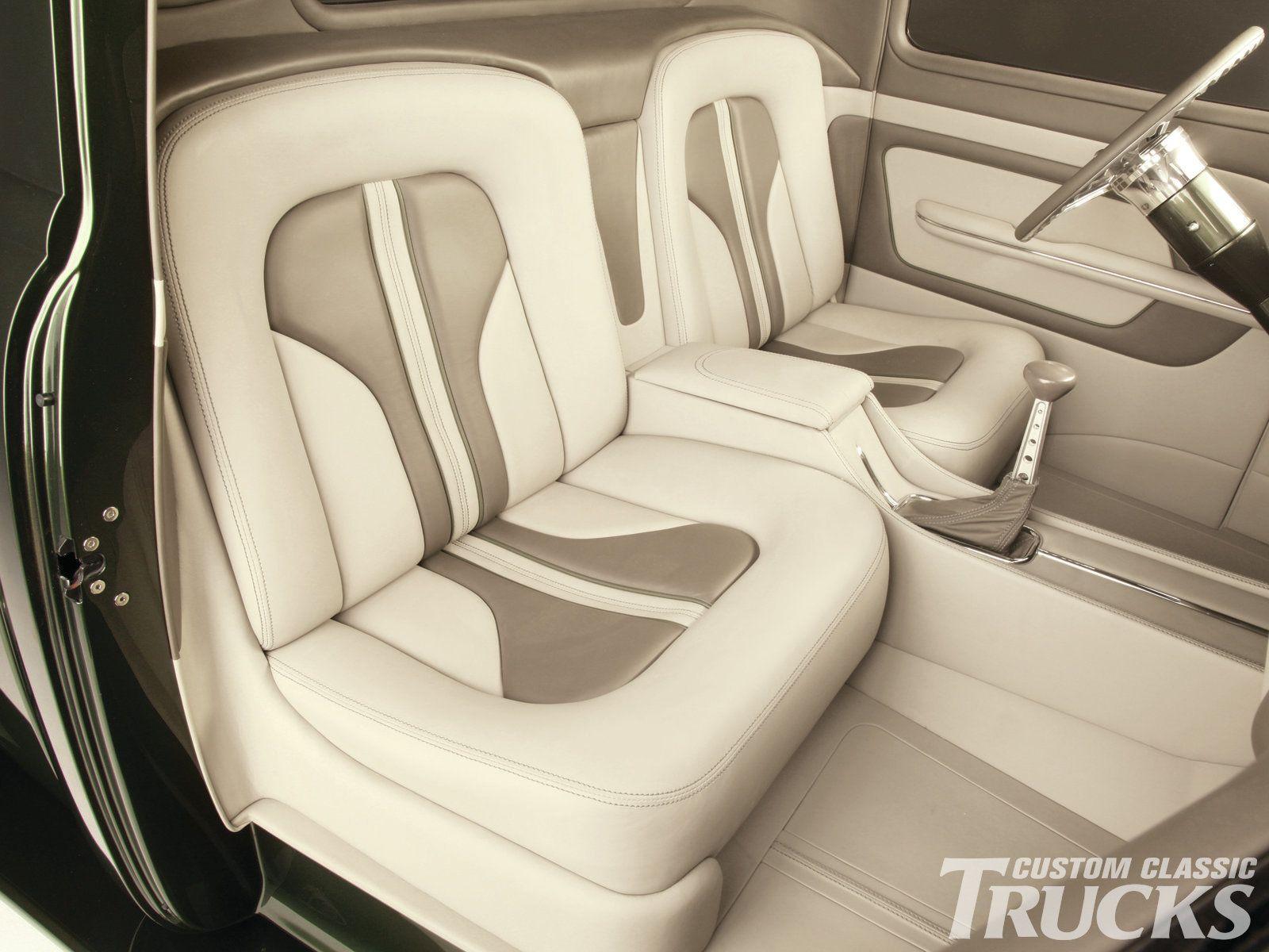 Custom car interior queens ny - 1212cct 11 O 1953 Chevrolet Truck Gabes Custom Interior Seats Photo 7