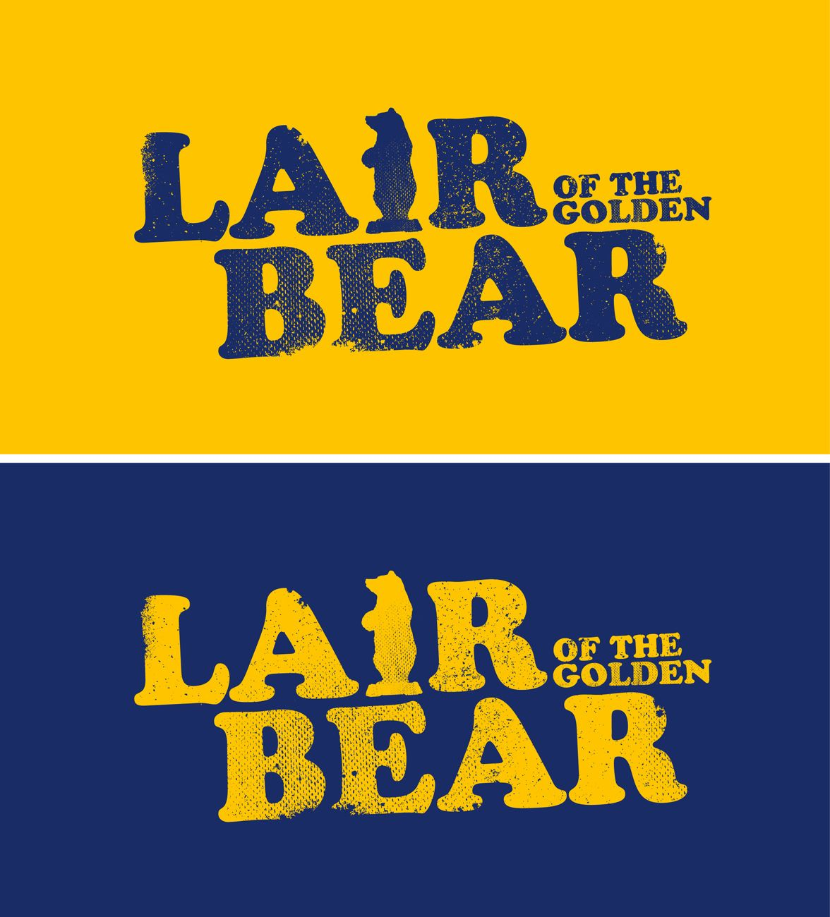 Shirt design needed - 03 05 2013 T Shirt Design For Lair Of The Golden Bear By Hairyyeti