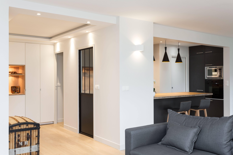 Renovation Appartement Paris 13eme Code Inspirations Modernite Et Epure Salon Renovation Paris A Renovation Appartement Design Sejour Decoration Maison