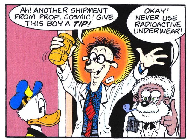 "Donald Duck in ""Super Snooper Strikes Again"", 1992 by Don Rosa [D 91076] from ""Donald Duck Adventures The Barks / Rosa Collection] vol. 2"