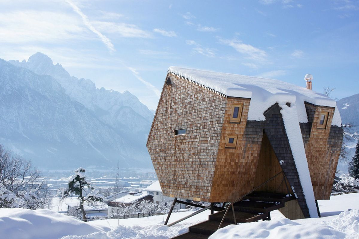The Dolomitenhutte Is A Mountain Cabin In Lienz Austria By Flo Johaenntgen Theworldofinteriors Interiordecora Mountain Cabin House Exterior Lienz