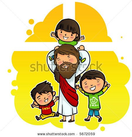 jesus clipart for kids - Google Search | Church Kids | Pinterest ...