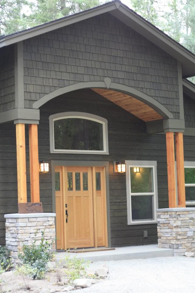 On Lp Smartside Panels This Rusticseries Finish In Old