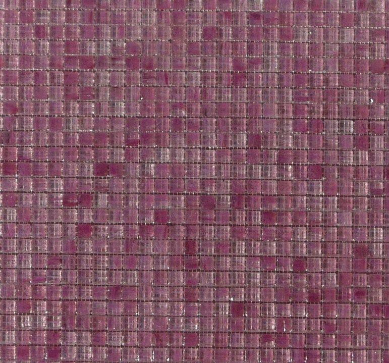 Rose mosaïque pâte de verre rose à lu0027or micro gemme 10 mm par plaque - mosaique rose salle de bain