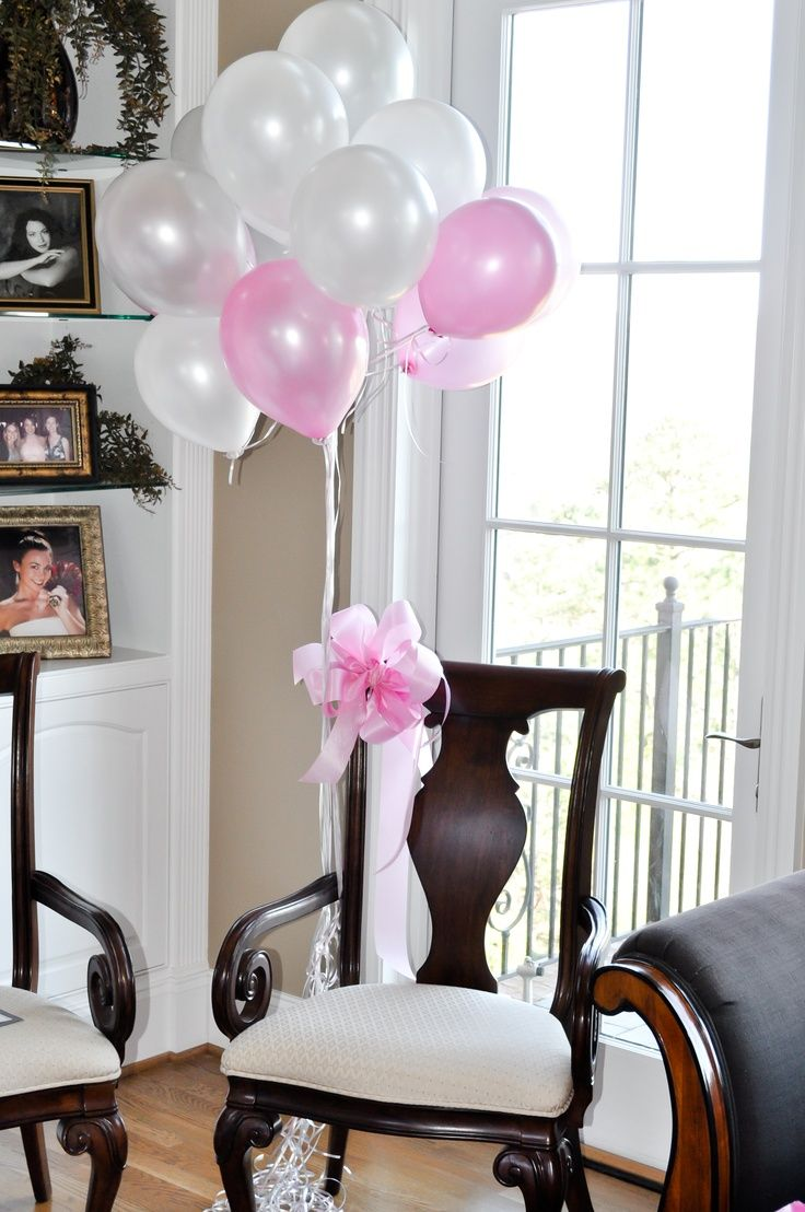 Baby shower chair - Baby Girl Themed Shower I Love The Idea Of Decorating The Mommy