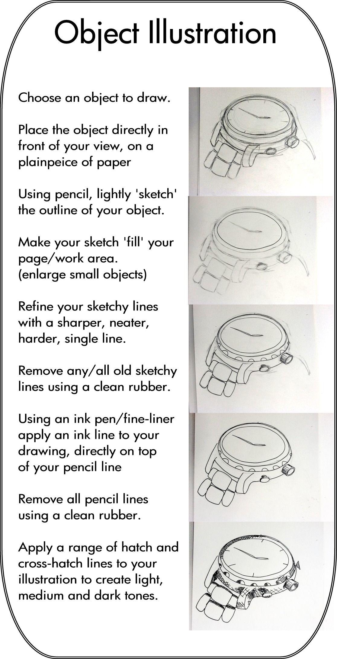 Object Illustration guidance