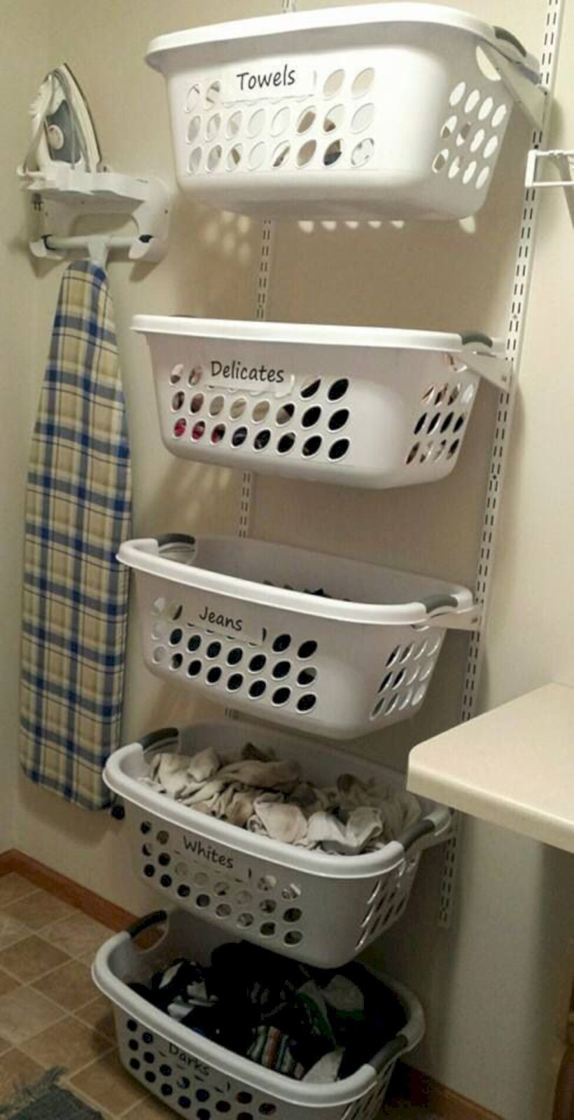 Foldable Wall Mounted Clothes Rail