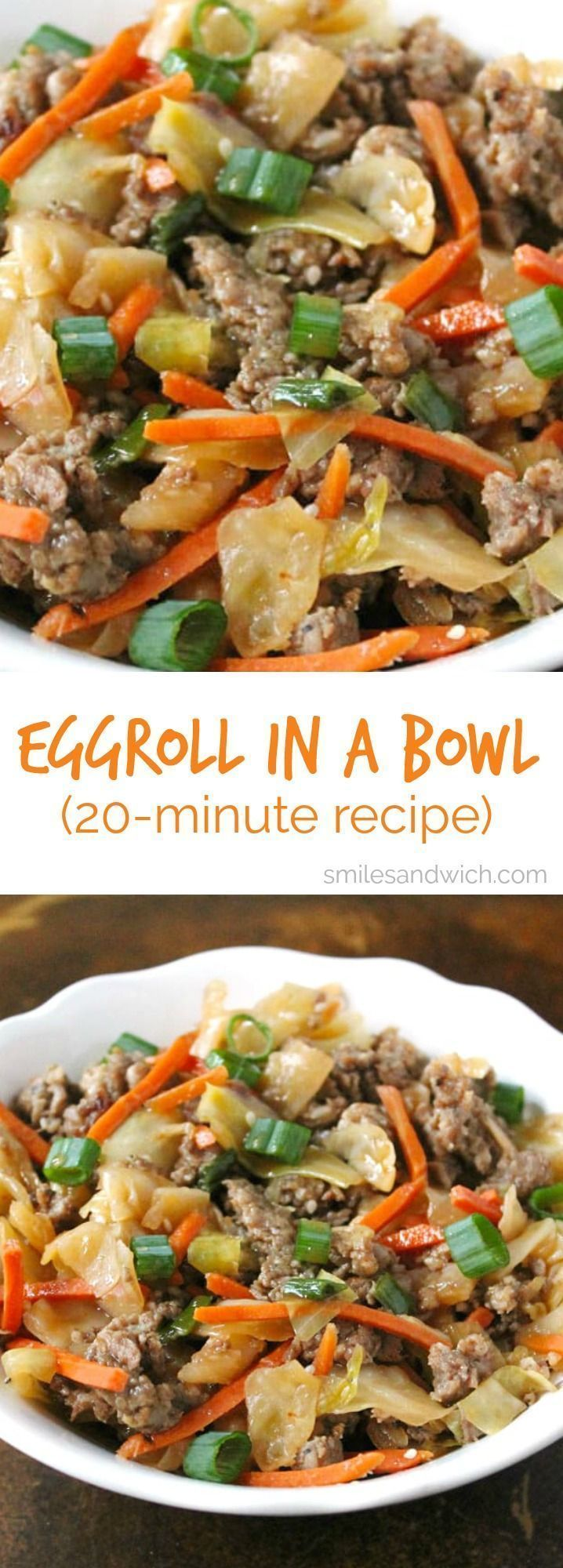 Egg Roll In A Bowl #eggrollinabowl