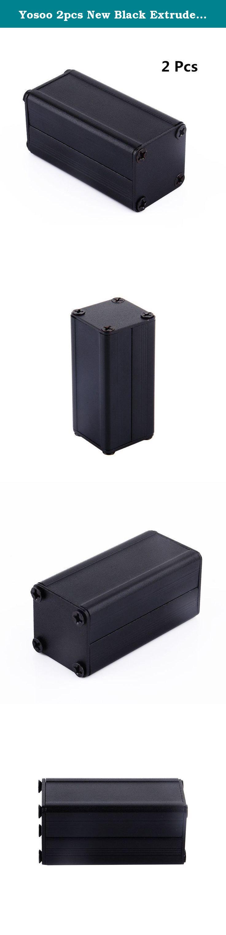 Yosoo 2pcs New Black Extruded Aluminum Electronic … Car