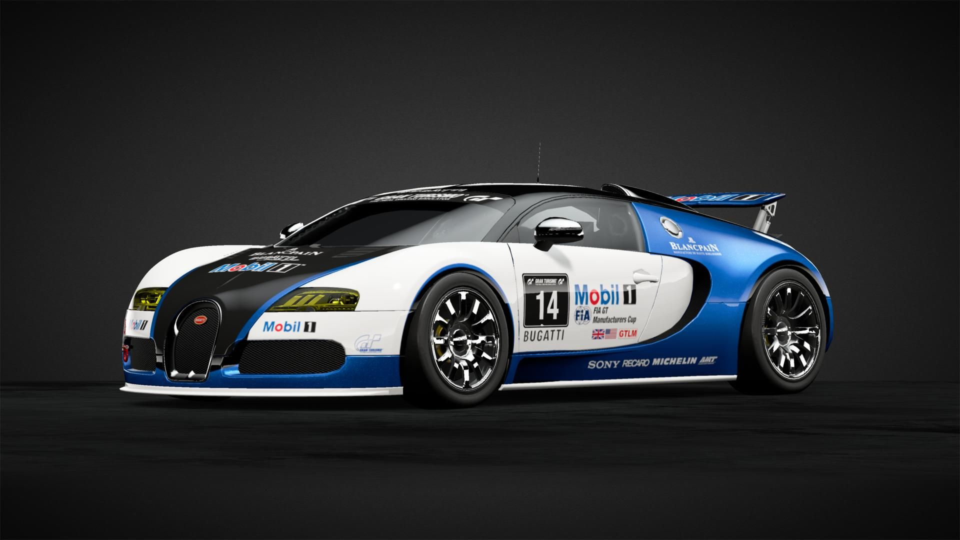 Mobile 1 Bugatti Car Livery by gearmeister Community