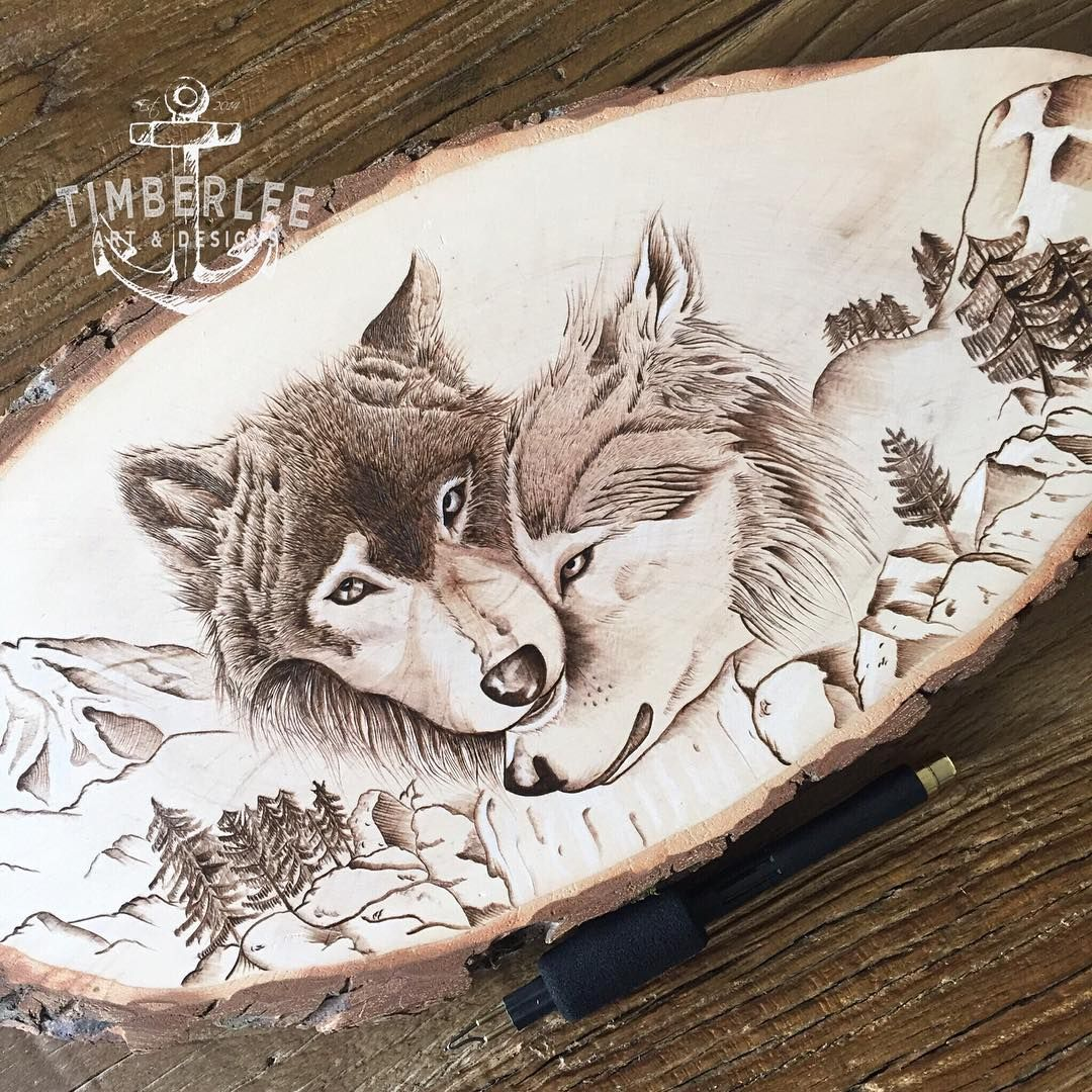 173 Likes 6 Comments Timberlee Art Designs Timberlee Eu On Instagram The Finished Wolve Wood Burning Stencils Dremel Wood Carving Wood Burning Crafts