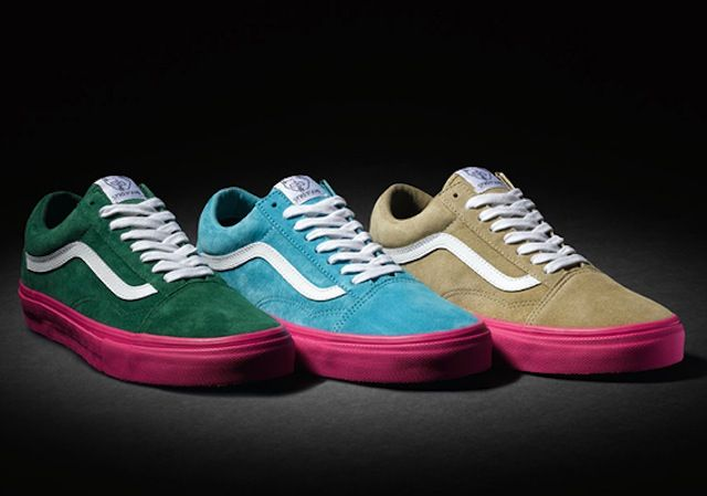 vans old skool rose homme