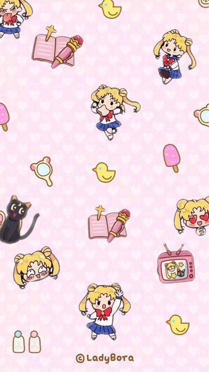 Wallpaper Sailor Moon Moe