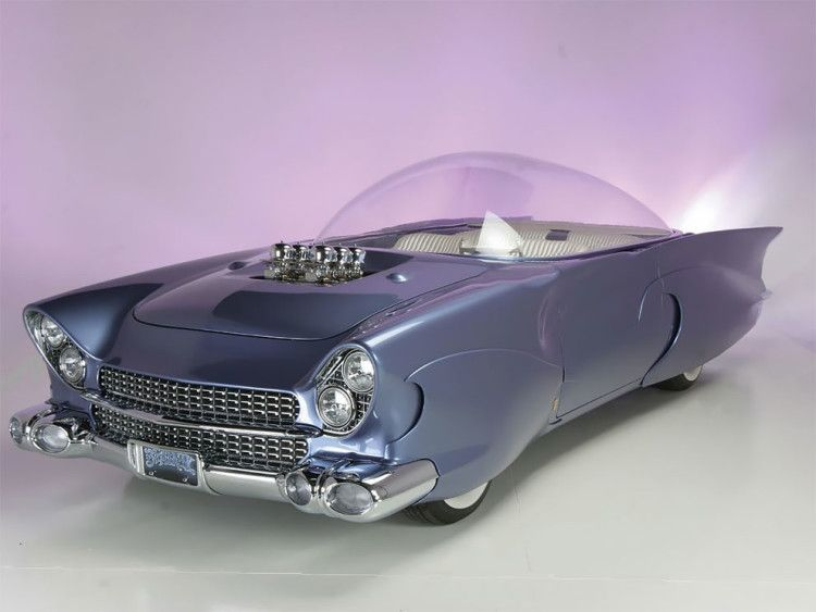 1955 Bubble Roofed Custom Ford By Gary Chopit Fioto Concept