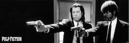 Vincent Vega and Jules Winnfield Quentin Tarantino's Pulp Fiction ...