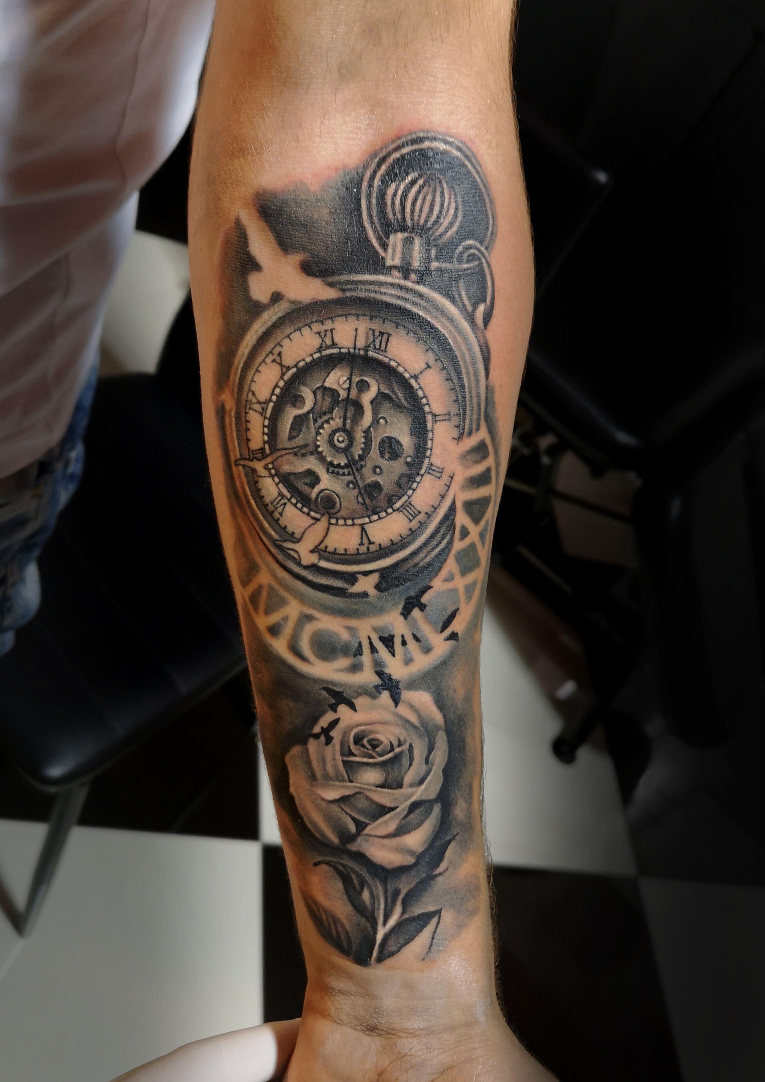 Uhr männer tattoo motive 50 einzigartige