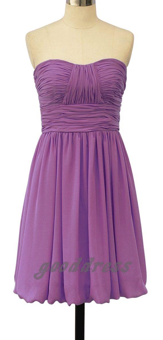 Light purple.   Dama de Honor   Pinterest   Damitas de honor y Damas