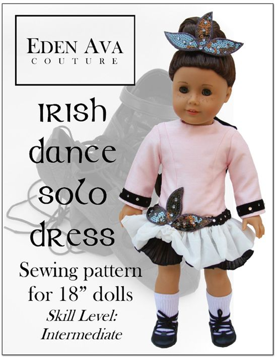 Irish Dance Solo Dress 18\