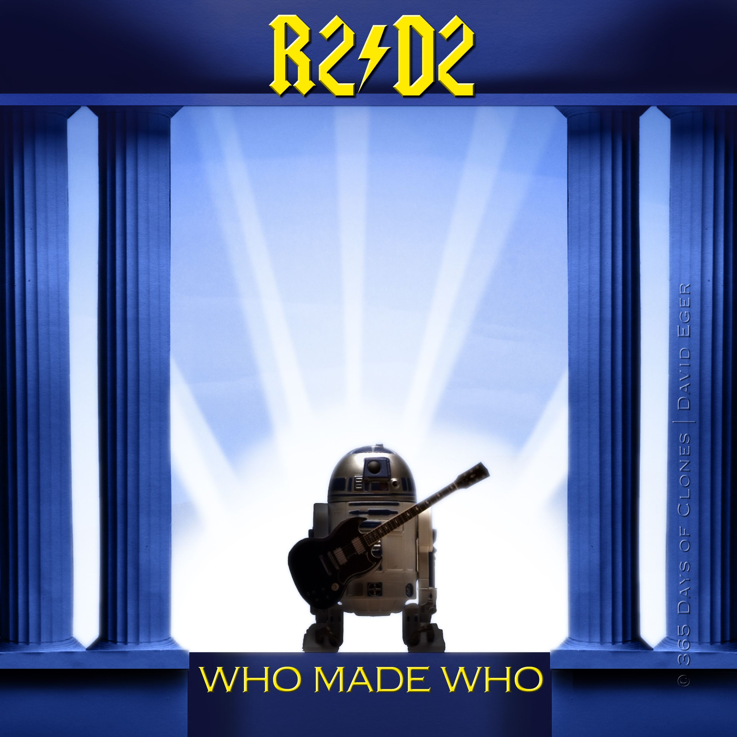 """Who Made Who"""" is my recreation of AC/DC's"""