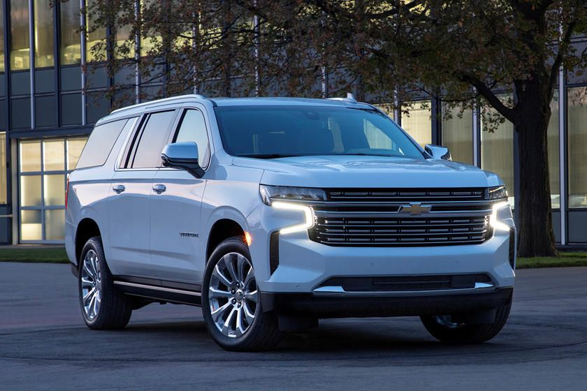 2021 Chevrolet Suburban Review Trims Specs And Price Carbuzz In 2020 Chevrolet Suburban Chevy Tahoe Chevy Vehicles