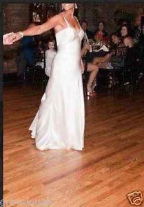 Birnbaum-Bullock-Silk-Wedding-Gown-Size-10-Dress-Long-Train-pins-up