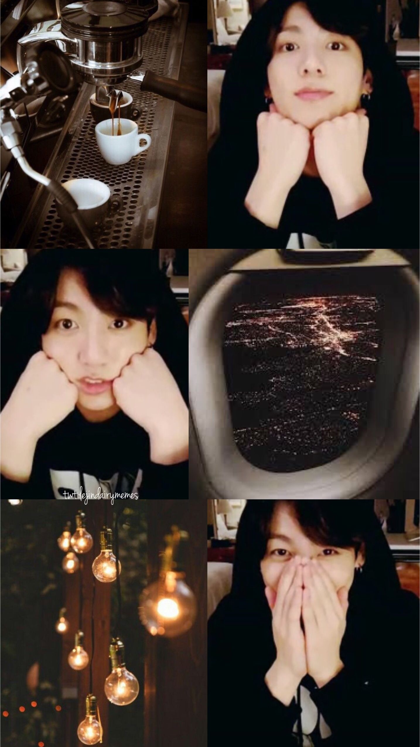 Bts Jungkook Wallpaper Aesthetic Brown By Lejindairymemes Bangtan