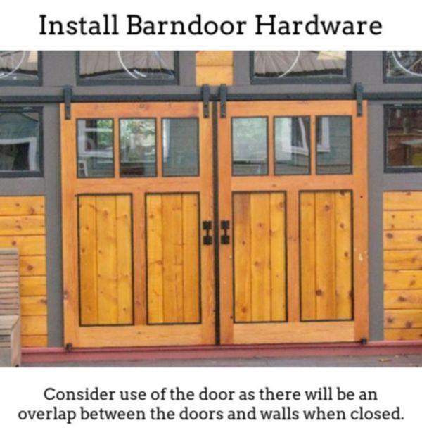Barndoor Hardware Uncover Barn Door Sliding Door Along