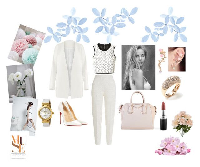 """""""Too white maybe, but I don`t care"""" by dovileer ❤ liked on Polyvore"""