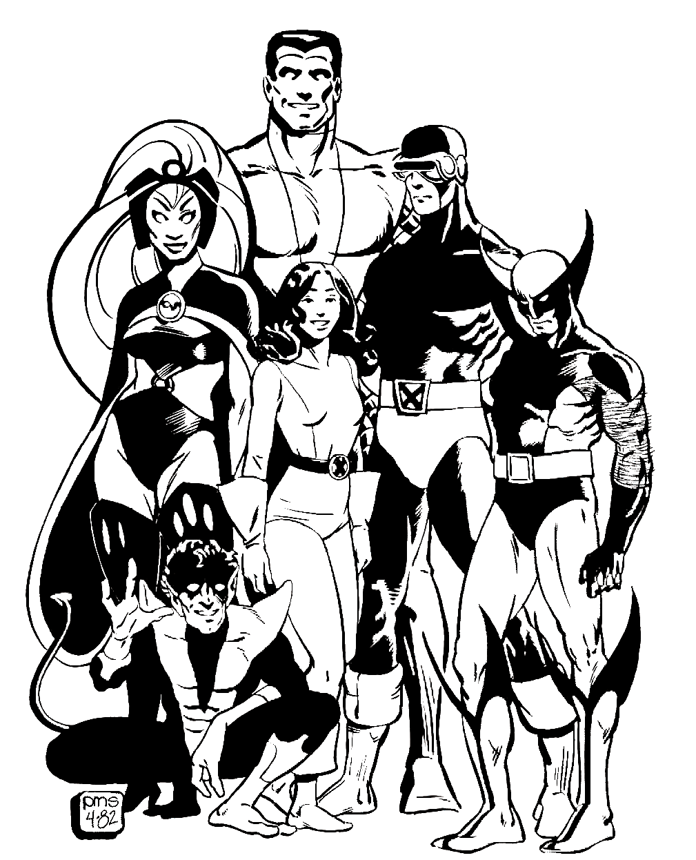x men by paul smith artes marvel comics pinterest paul smith