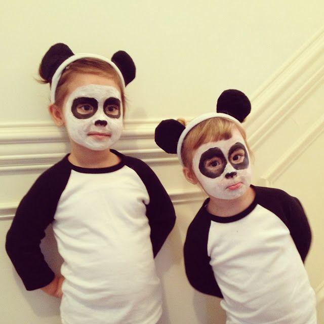 Little Panda Bears   design + life + kids  sc 1 st  Pinterest & Little Panda Bears   design + life + kids   Carnaval   Pinterest ...