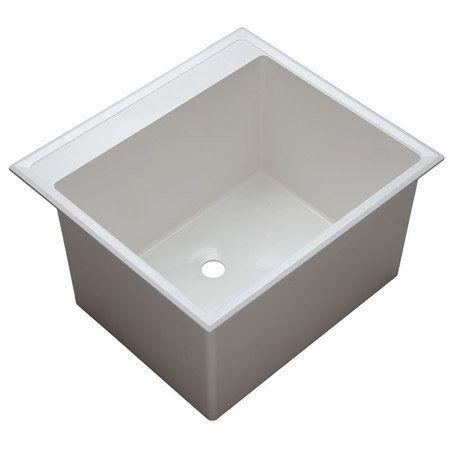 Proflo Pflt2522d Sink Utility Sink Double Bowl Sink