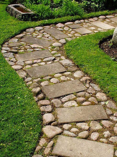 27 Easy And Cheap Walkway Ideas For Your Garden Garden Paths