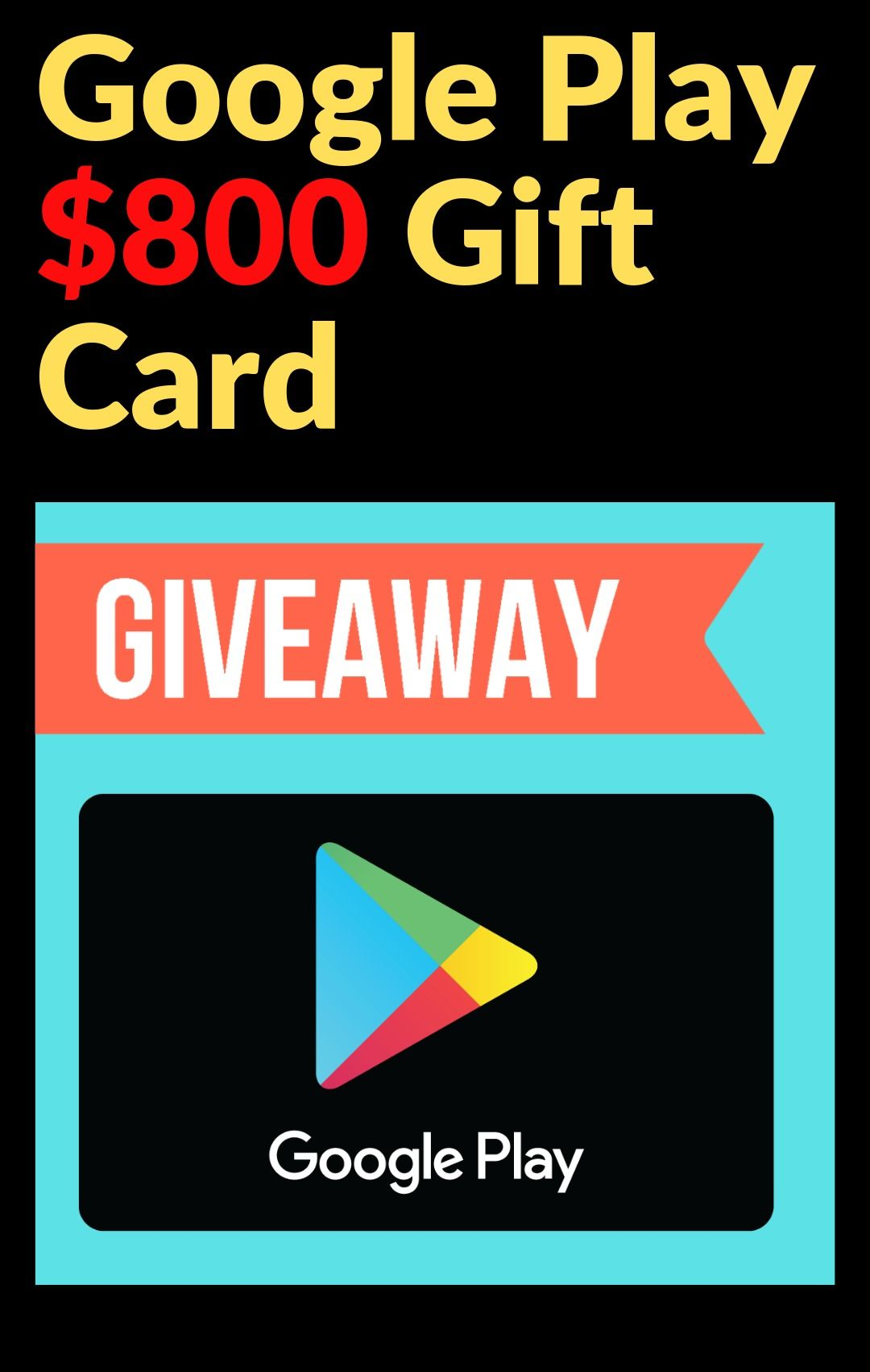 Win Google Play Gift Card Googleplaygiftcard
