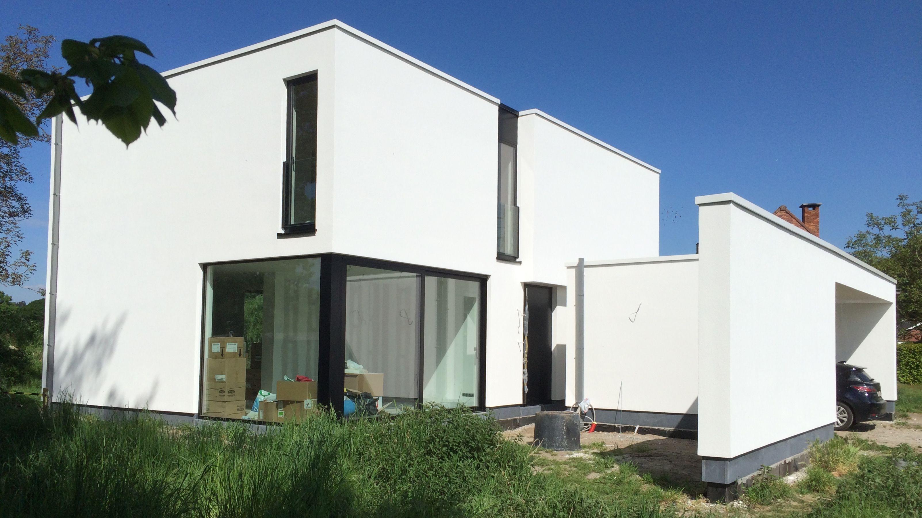 Niko wauters moderne minimalistische woning met laag energieverbruik modern minimalistic low - Minimalistische mobel ...