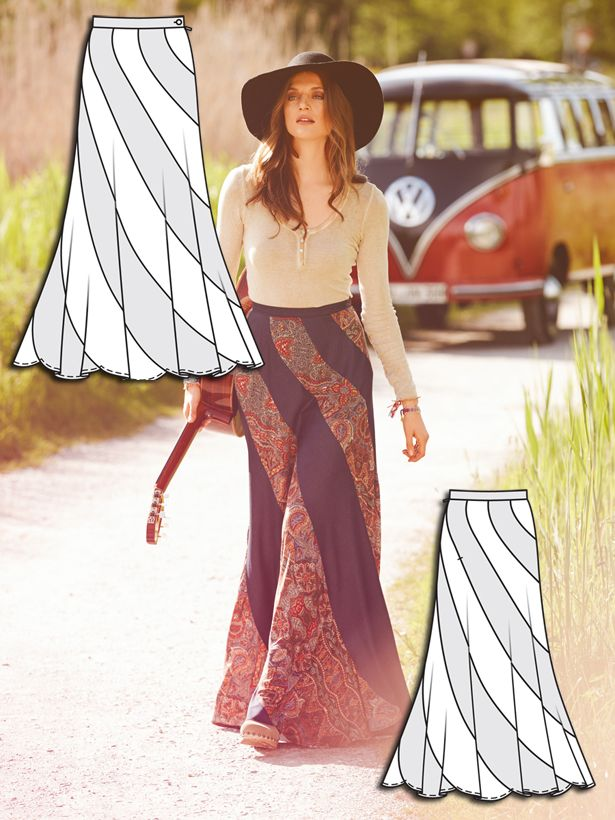 Woodstock: 11 Bohemian New Sewing Patterns | Bohemian, Patterns and ...