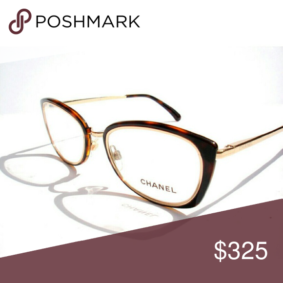 d7427124d8a Chanel Eyeglasses Authentic chanel Eyeglasses Black and gold frame Size  51-19-135 Includes original case only has CHANEL Accessories Glasses