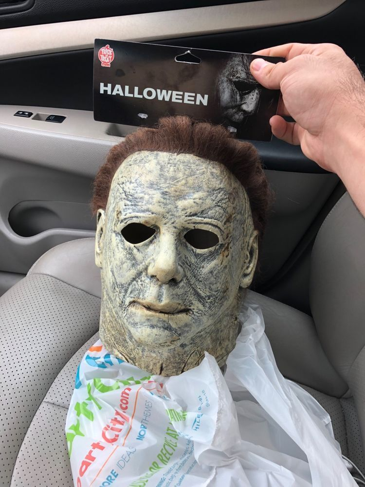 Halloween 2018 Michael Myers Face.Halloween 2018 Michael Myers Mask Fashion Clothing Shoes