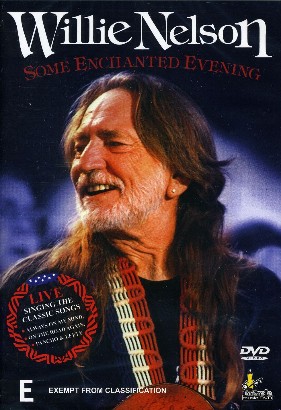 Willie Nelson Some Enchanted Evening Alemania Dvd Ad