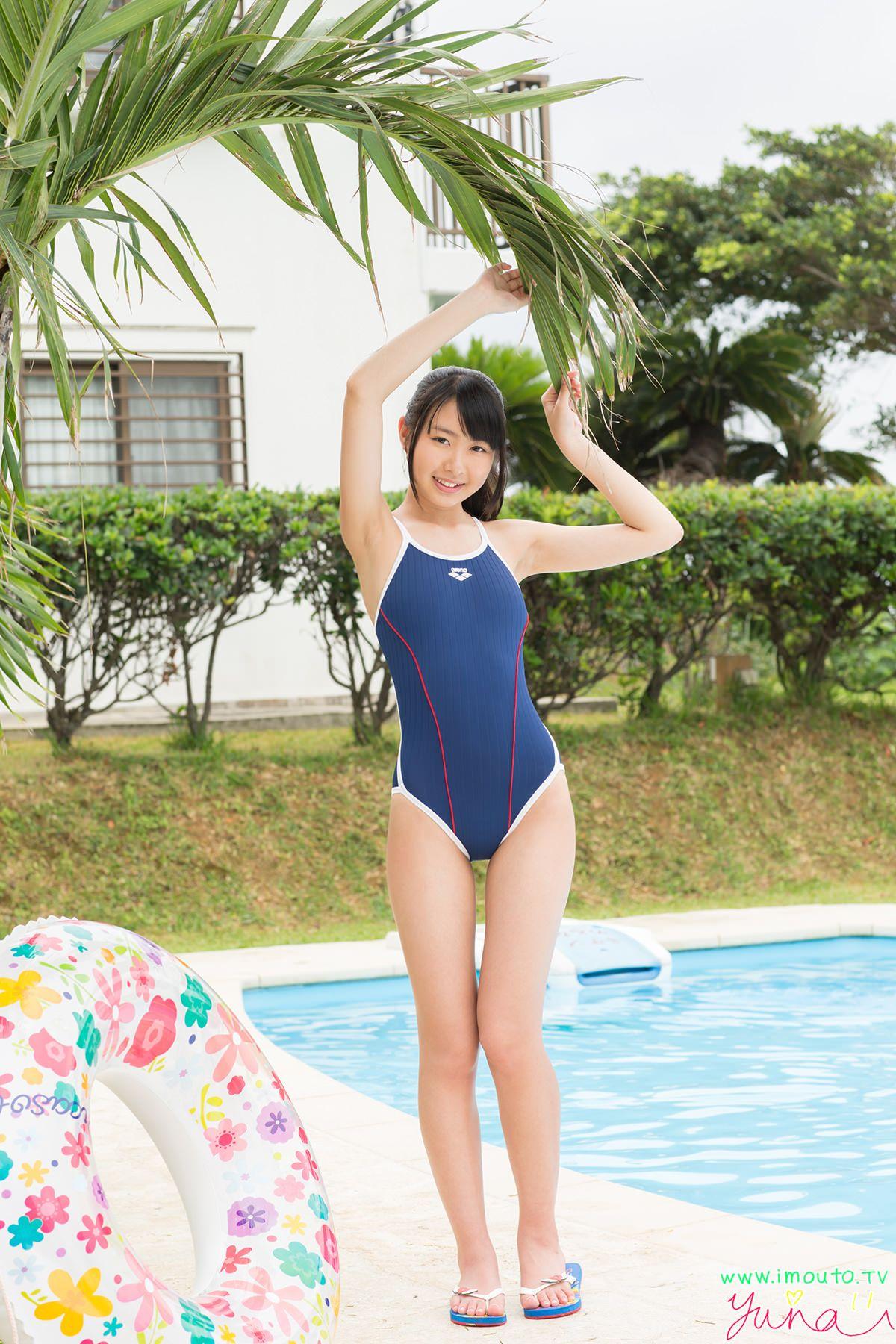 ジュニアアイドル 競泳用水着 ギリギリ水着究極チラリズムPLUS