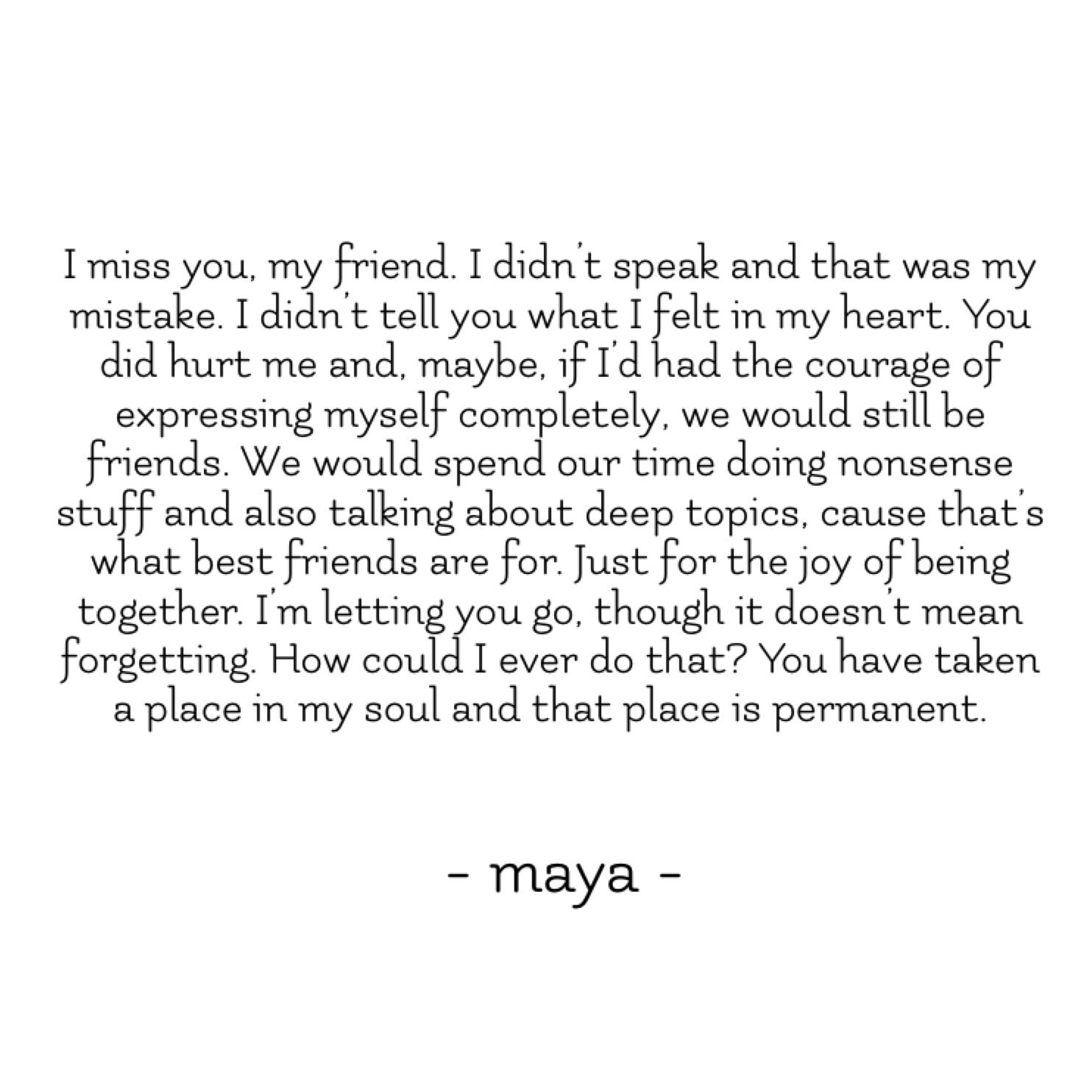 I miss you my friend writing friends friendship quotes