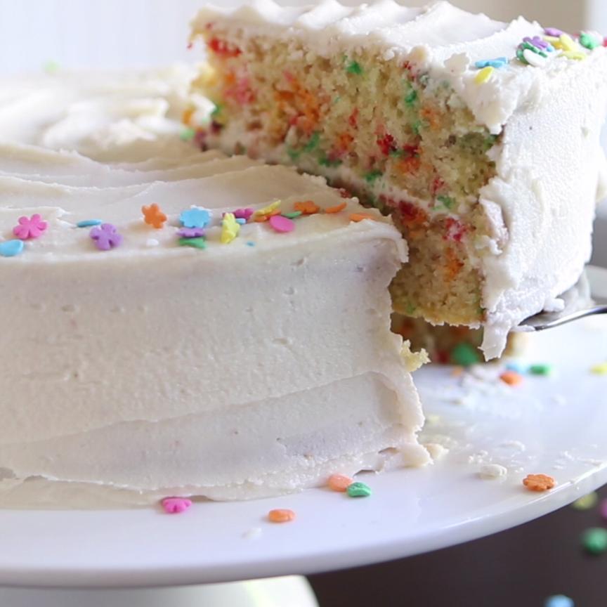 Photo of Vanilla Funfetti Cake –  A vanilla funfetti cake is one of life's many simple …