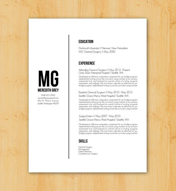 Beautiful Resume Writing / Resume Design: Custom Resume Writing U0026 Design Service    Minimalist, Modern Within Resume Design Service